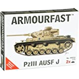 Armourfast 1/72 German Panzer III Ausf J Model Kit - Contains 2 Tanks