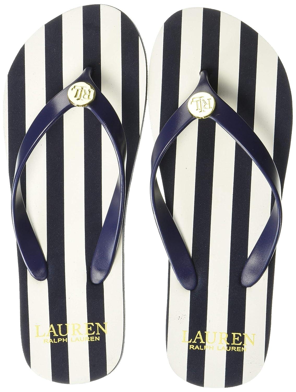 Elissa II Sandal, Navy/Cream