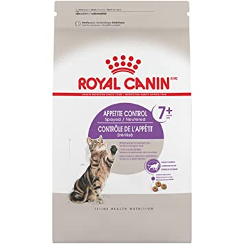 Royal Canin Feline Health Nutrition Spayed/Neutered Appetite Control Comida para Gatos, 6 libras: Amazon.es: Productos para mascotas