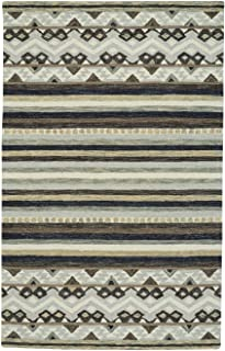 product image for Shakta-Kelim Paper Birch 9' x 12' Rectangle Hand Tufted Rug
