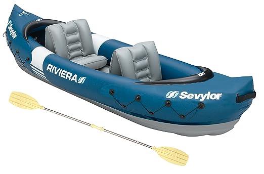 24 opinioni per Sevylor Riviera Kayak, 2 Posti