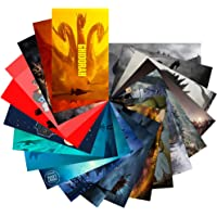 Godzilla: King of The Monsters Stickers Pack 20-Pcs, GTOTd Stickers Decals Vinyls for Laptop,Waterbottle,Teens,Cars,Gift,Movie Collection(Not Random)