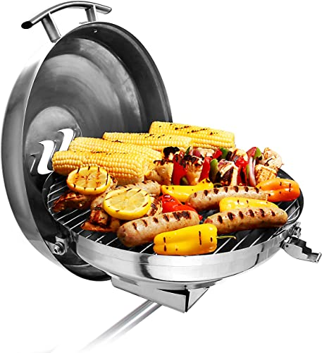 Kettle Gas Grill/Bbq Mount for Pontoon Boat [Camco] Picture