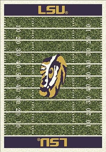 Louisiana State LSU Tigers 5 4 x 7 8 NCAA Home Field Area Rug