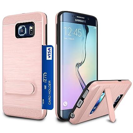 Amazon.com: Galaxy S6 Edge Funda, S6 Edge titular de la ...