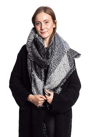 Abbino STL8-5 Schal für Frauen Damen - 5 Farben - Übergang Sommer Herbst  Winter Beiläufig Damenschal Micromodal Einfarbig Sale Stilvoll Klassisch  Weich ... 97129e0e2c