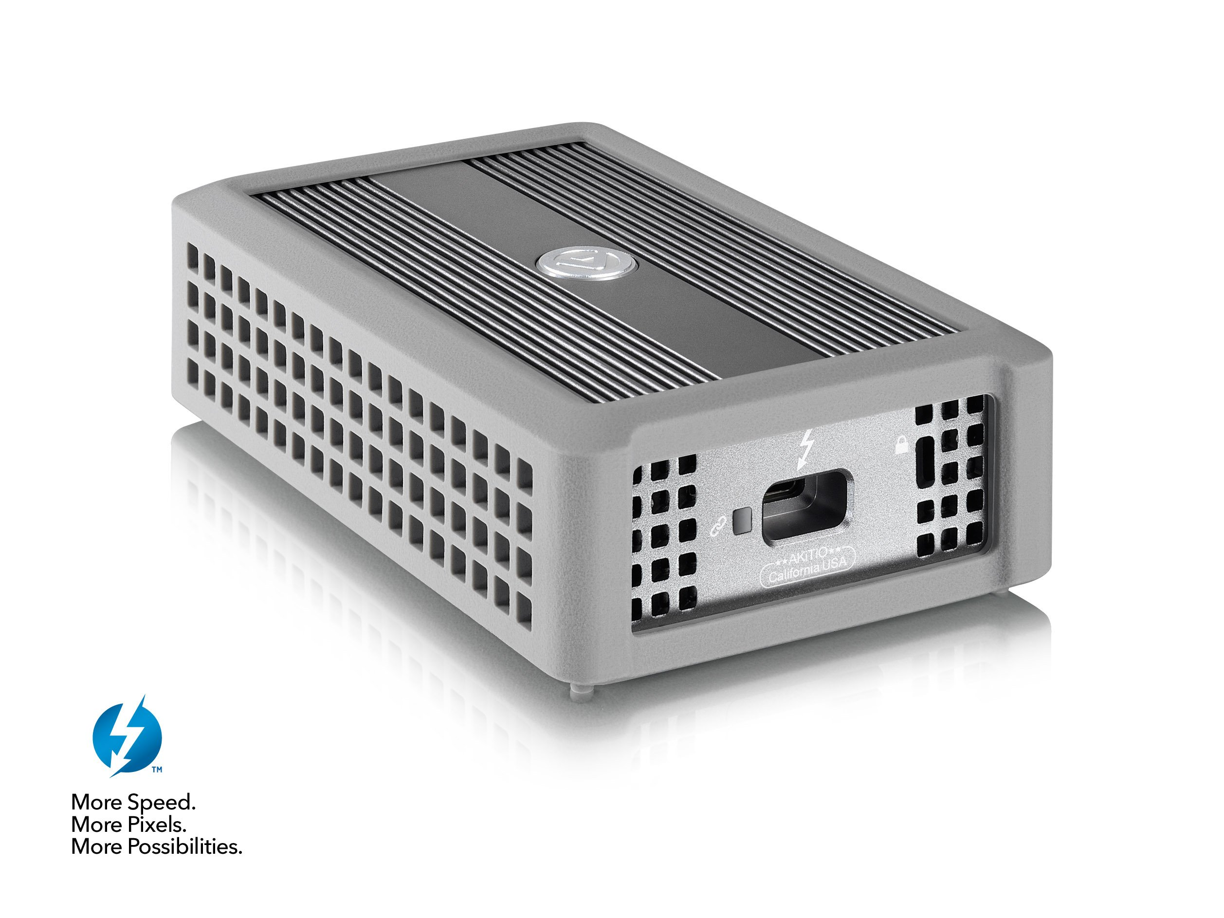 Akitio T3TGAA0008Y000 T3-10G: (Thunderbolt3 to 10G Adapter with Intel Alpine Ridge + Aquantia AQC107S) Electronics by Akitio (Image #1)