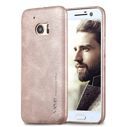 htc 10 case gold. htc 10 case,x-level [vintage series] leather back cover [flexibley htc case gold