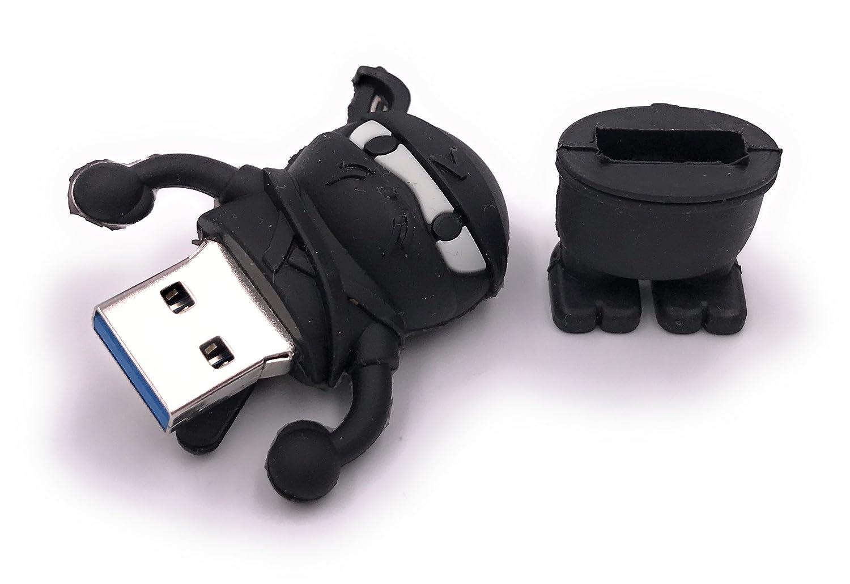 H-Customs Memoria USB Unidad flash USB Ninja Martial Arts 8 ...
