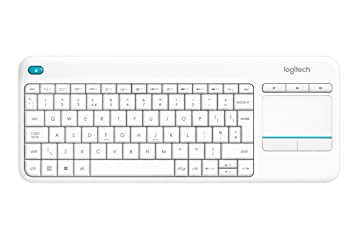 06c1fe0c341 Logitech K400 Plus Wireless Touch Keyboard for Windows, Android and Chrome  - QWERTY, UK