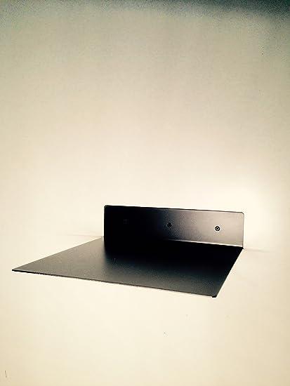 Tocadiscos estante estantería Invisible vinilo negro flotando ...
