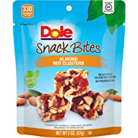 DOLE SNACK BITES Almond Clusters 2 Ounce (Pack of 12)
