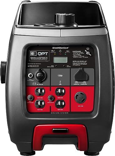 Briggs Stratton P3000 Power Smart Series Inverter Generator with LCD Display and Quiet Power Technology, 3000 Starting Watts 2600 Running Watts, RV Ready