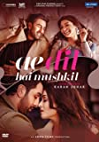 Ae Dil Hai Mushkil Hindi DVD ( All Regions, English Subtitles )