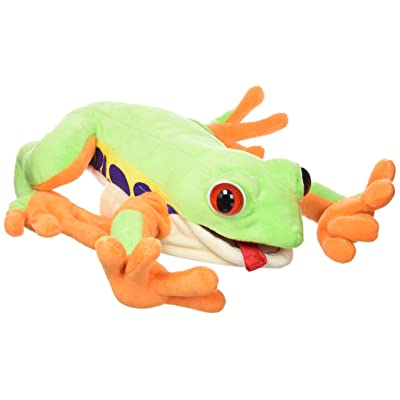 "Sunny Toys 12"" Frog Tree Hand Puppet: Toys & Games"