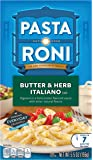 Pasta Roni Butter & Herb Italiano Rigatoni Mix, 5.5 oz, (Pack of 12 Boxes)