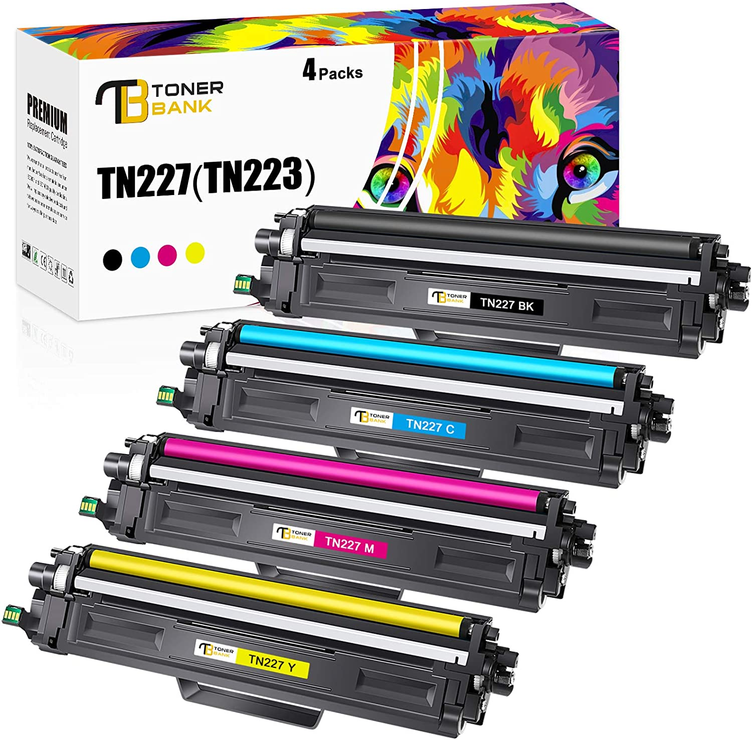 L9200CDW; MFC L9550CDW On-Site Laser Compatible Toner Replacement for Brother TN339BK Works with: HL L9200CDWT Black