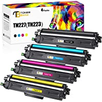 Toner Bank Compatible Toner Cartridge Replacement for Brother TN227 TN-227 TN223 TN-223 for Brother MFC L3770CDW MFC…