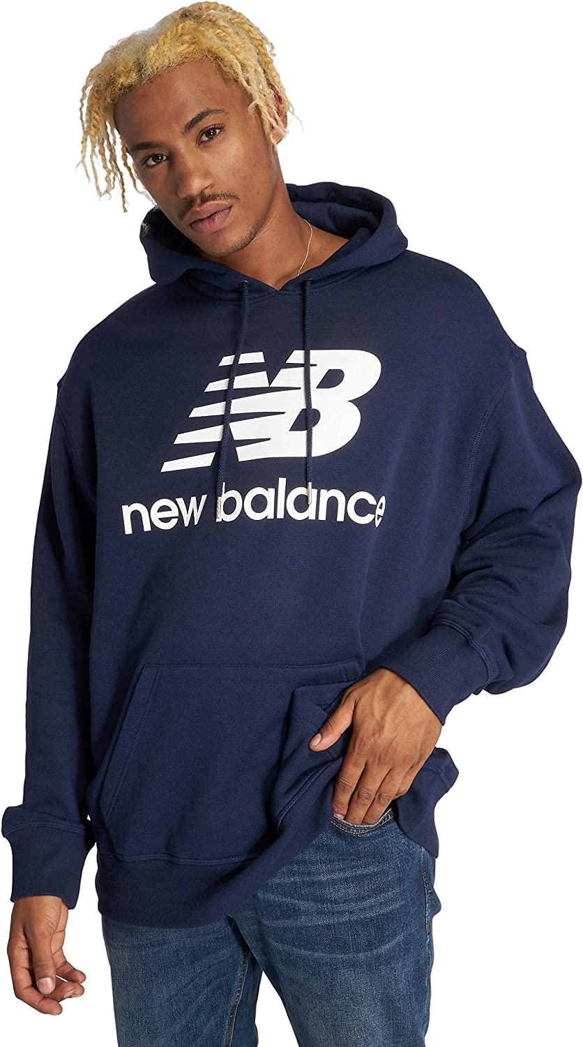 New Balance Sweat à Capuche Essentials Stacked
