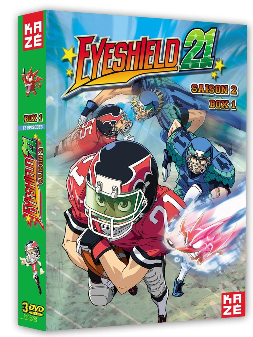 Amazon.com: Eyeshield 21 Vol.1/4 - Saison 2: Movies & TV