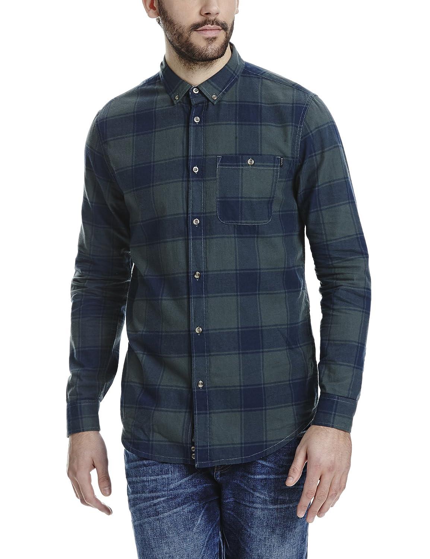 TALLA Kragenweite: 42 (Herstellergröße: M). Bench Dialog, Camisa para Hombre