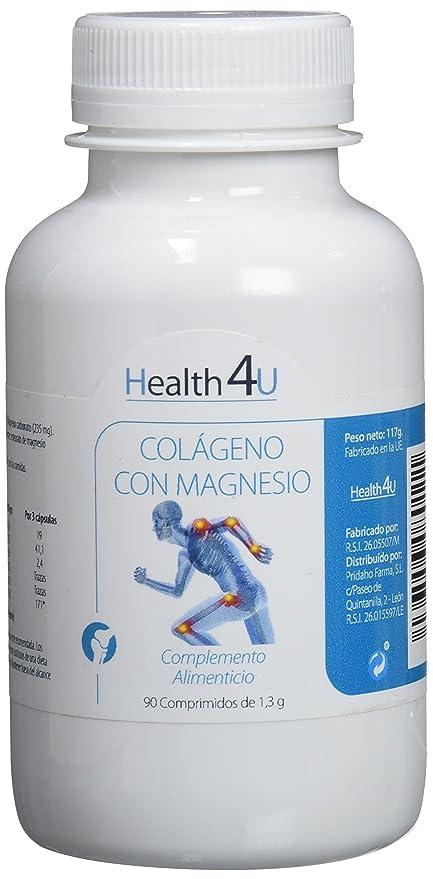 H4U - H4U Colágeno con Magnesio 90 comprimidos de 1,3 grs
