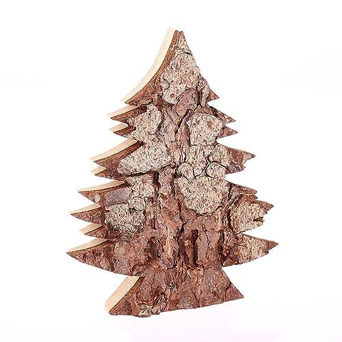 Weihnachtsdeko Rinde.Holzdeko Baum Filigran Klein Ausführung Rinde Weihnachtsdeko