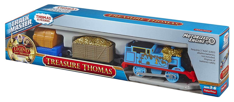 Fisher price thomas amp friends trackmaster treasure chase set new - Amazon Com Fisher Price Thomas Friends Trackmaster Treasure Thomas Toys Games