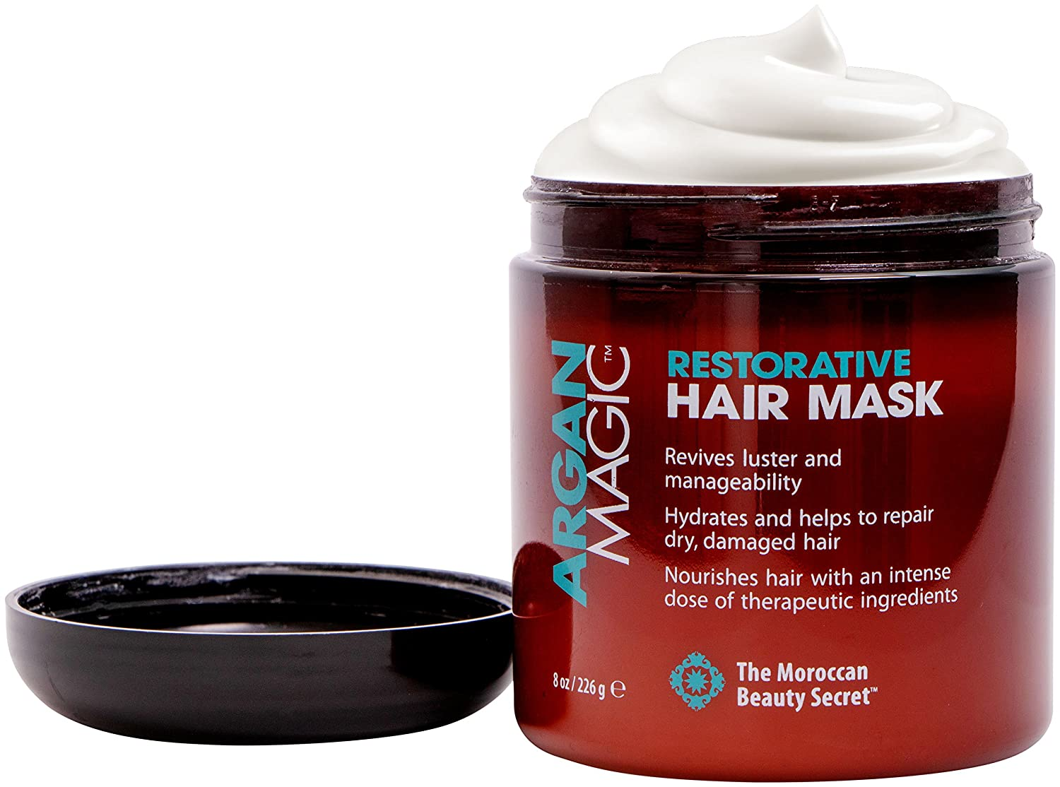 Argan Magic Restorative Hair Mask 8 Oz. Jar Jocott Brands Arg-0789