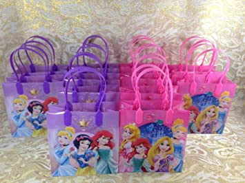 Amazon.com: 48 Piece Disney Princesas Goodie bolsas Party ...