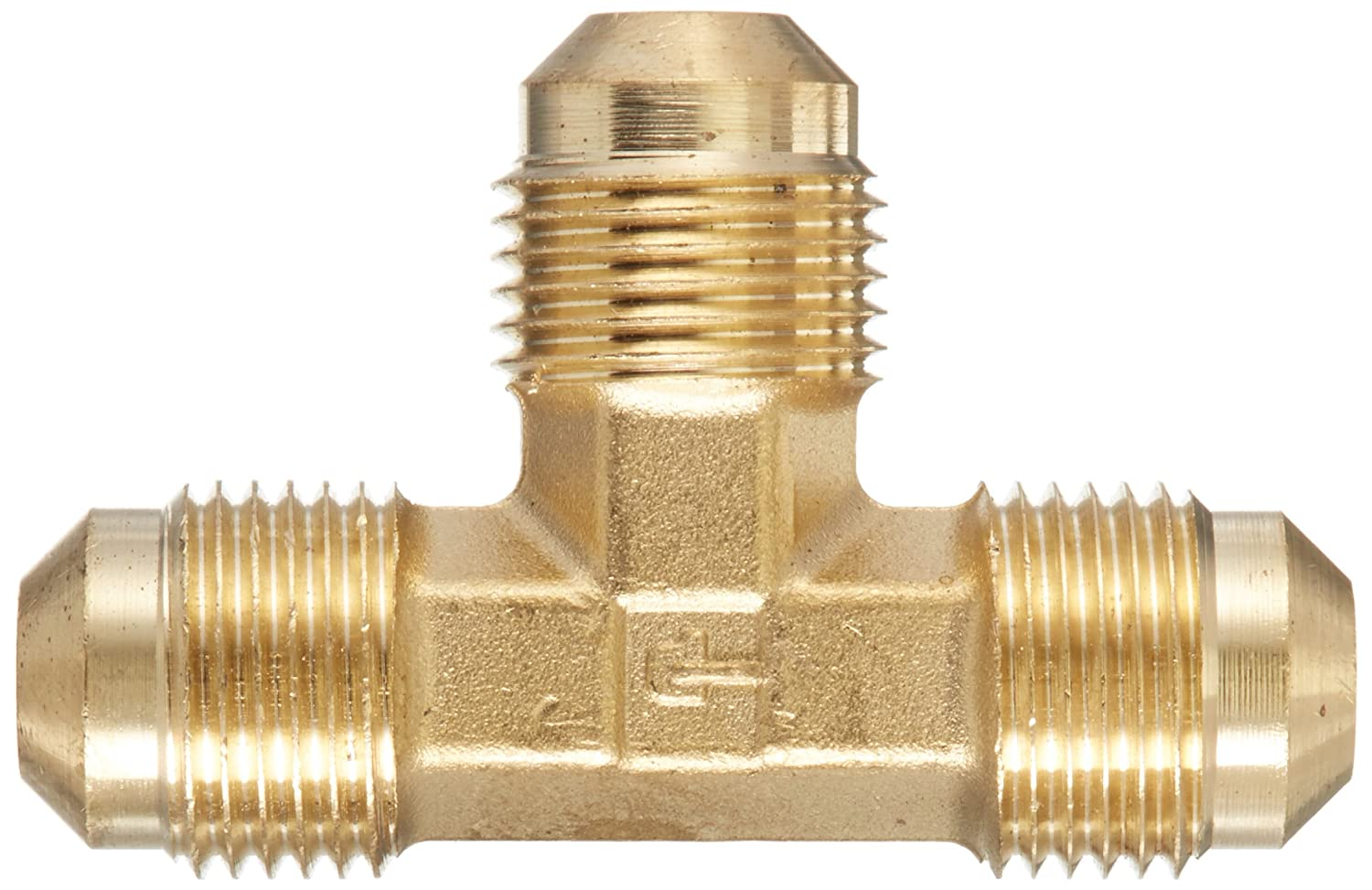Parker 144F-6-pk10 Union Tee Pack of 10 3//8 Flare Brass 3//8 Flare