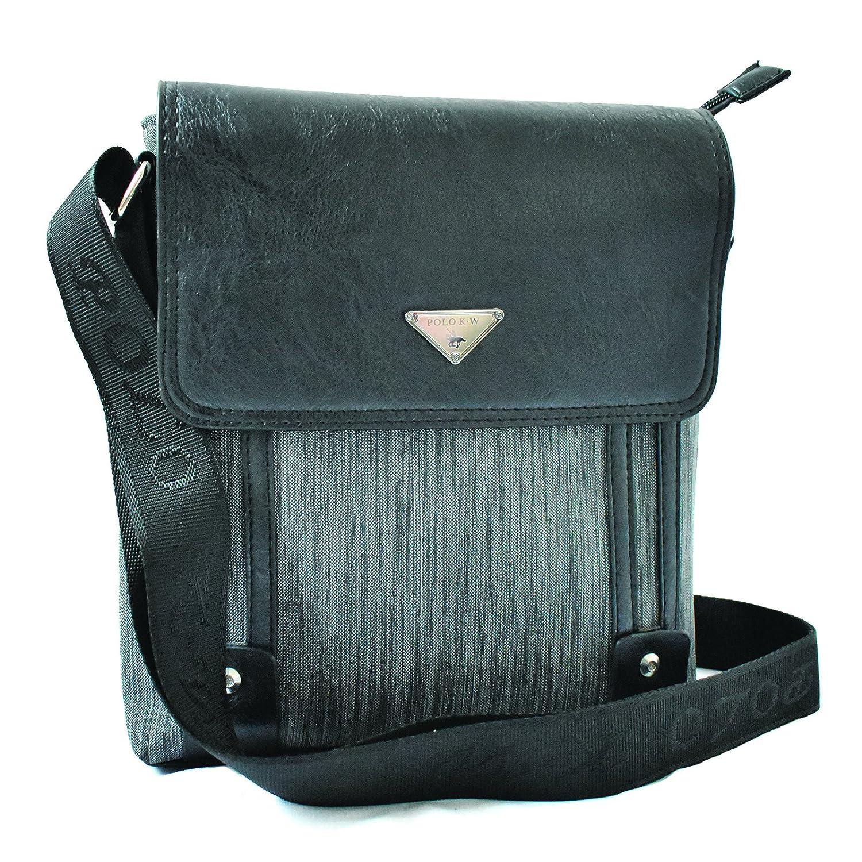 c44c860a8781 POLO K.W Stylish Leather Messenger Bag   Sling Bag   Cash Bag for Mens