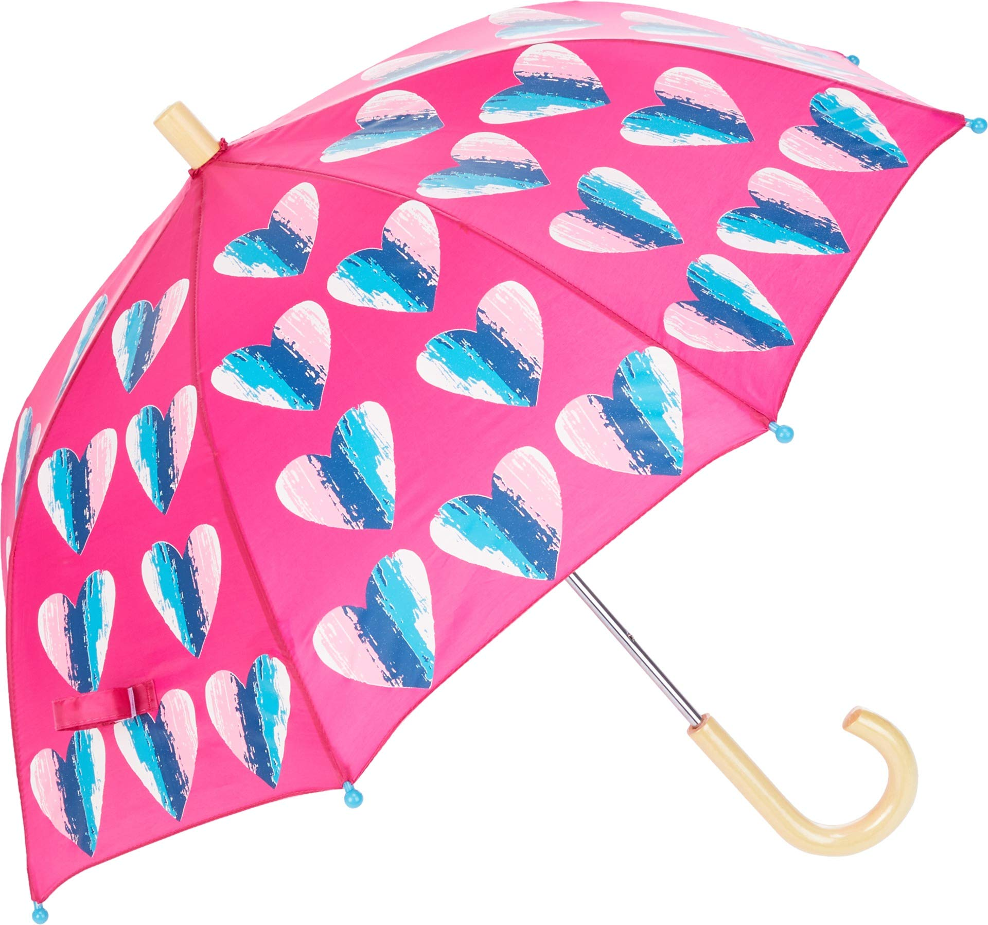 Hatley Kids Women's Hearts Umbrella Pink One Size