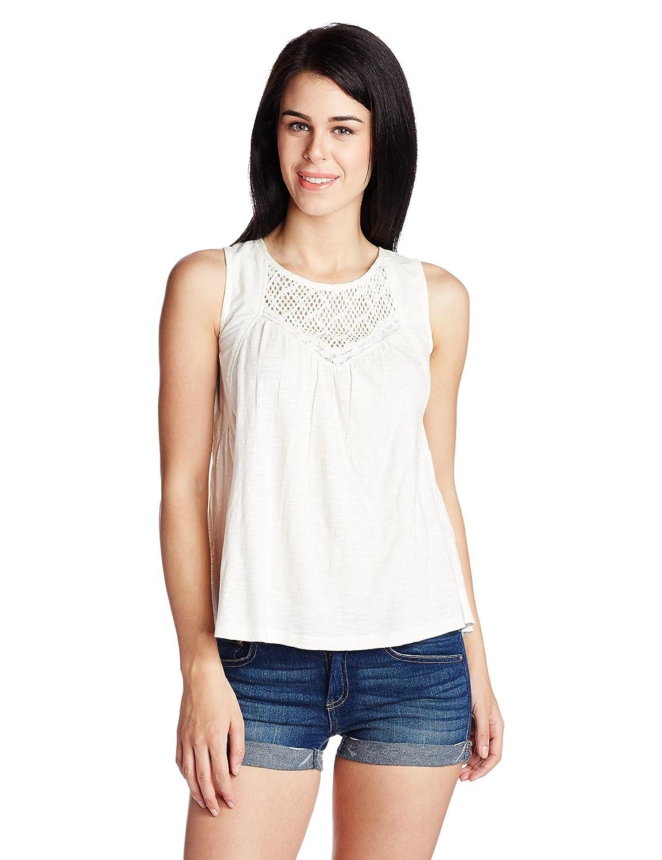 Roxy Coast J KTTP WCD0 - Camiseta para Mujer, Color Blanco