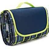 NaturalRays Extra Large Picnic & Outdoor Blanket for Water-Resistant Handy Mat Tote Great for Outdoor Beach, Hiking…