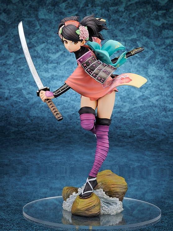 Oboro Muramasa The Demon Blade Yuzuruha 1//8 Painted PVC Figure Alter New