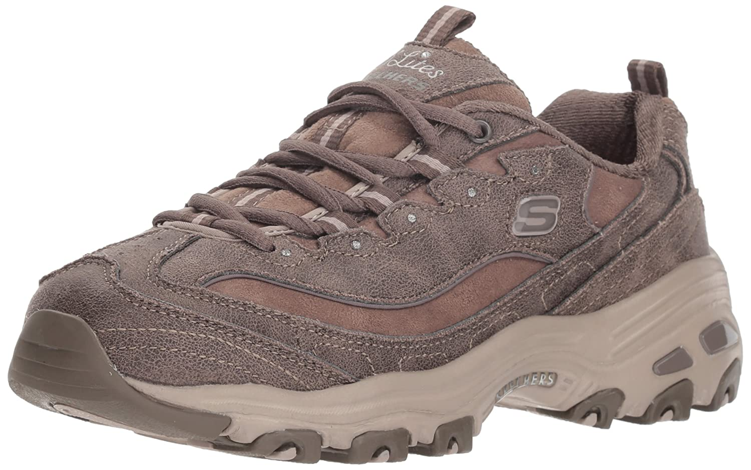 Skechers D Lites-New B079YBJG24 School, D Baskets Femme Taupe Dark Taupe a81a2a0 - reprogrammed.space