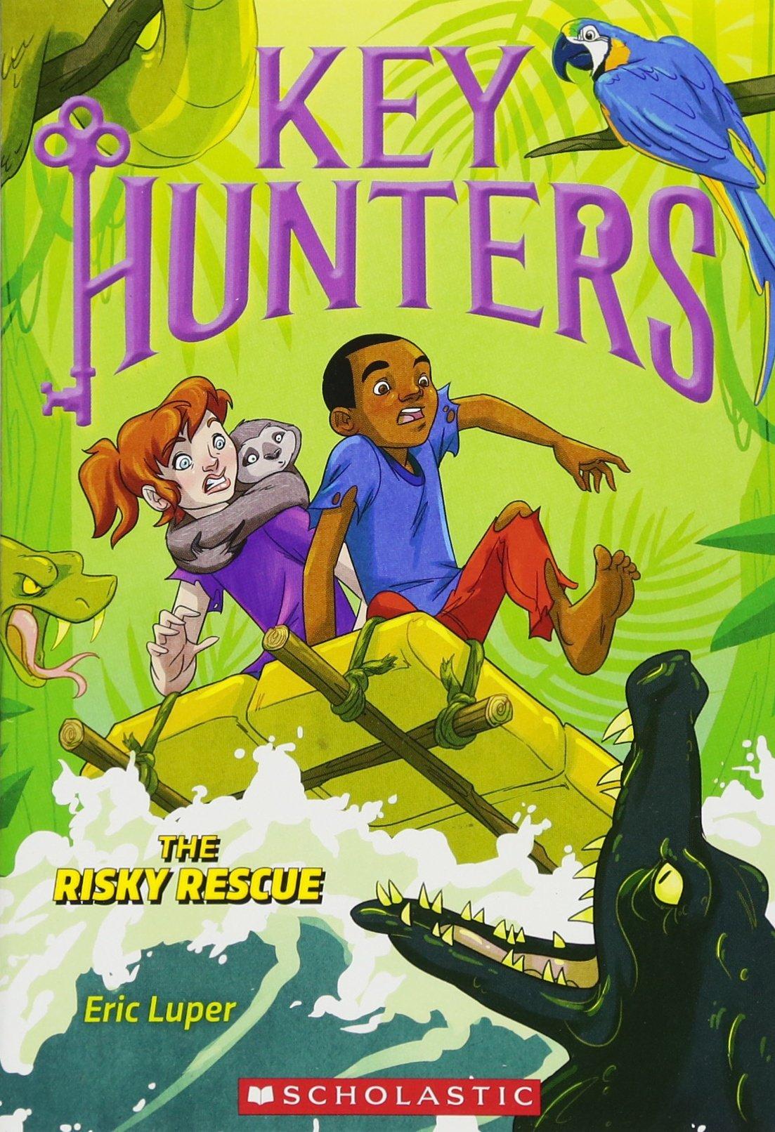 The Risky Rescue (Key Hunters #6)