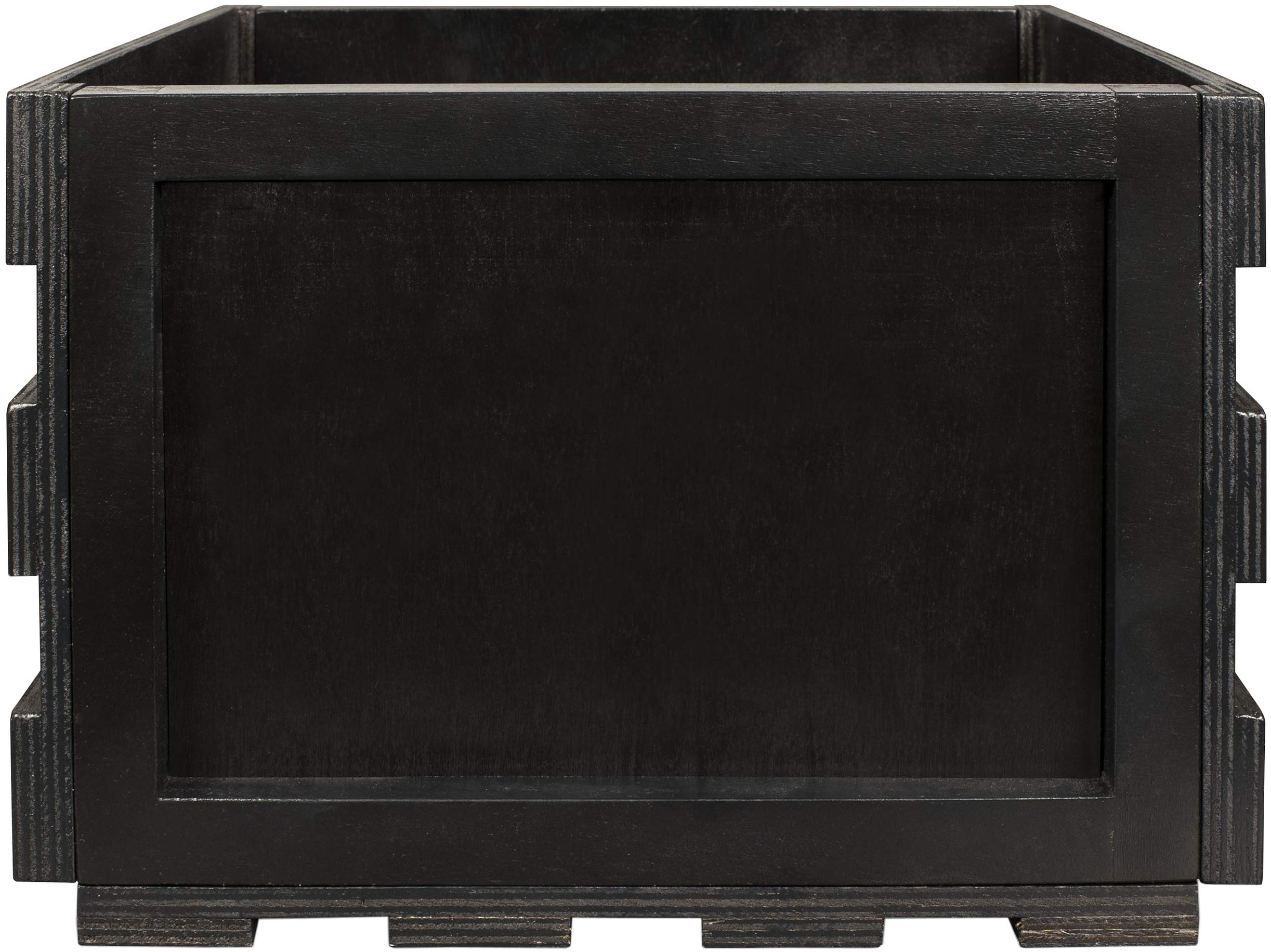 Crosley AC1004A-BK Record Storage Crate Holds up to 75 Albums, Black by Crosley (Image #5)