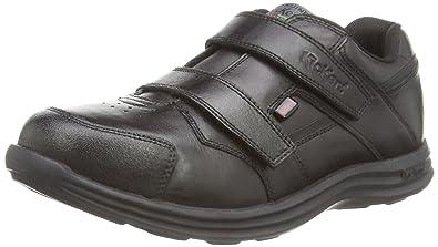 Kickers Seasan Strap Lthr Ym - Mocasines de Cuero para niño, Color Negro, Talla 38.00: Amazon.es: Zapatos y complementos