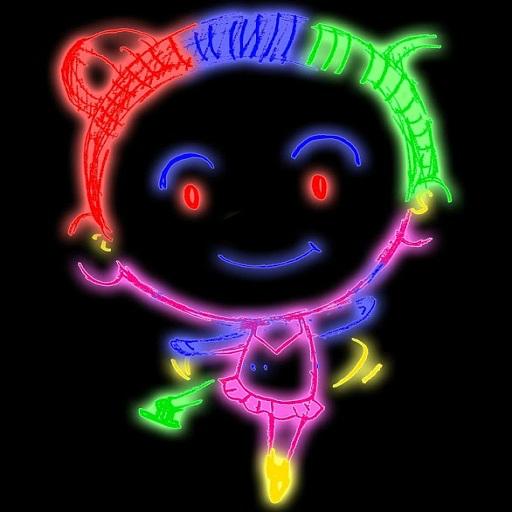Kids Doodle Coloring Draw Magic Joy Color Book Pages 2018