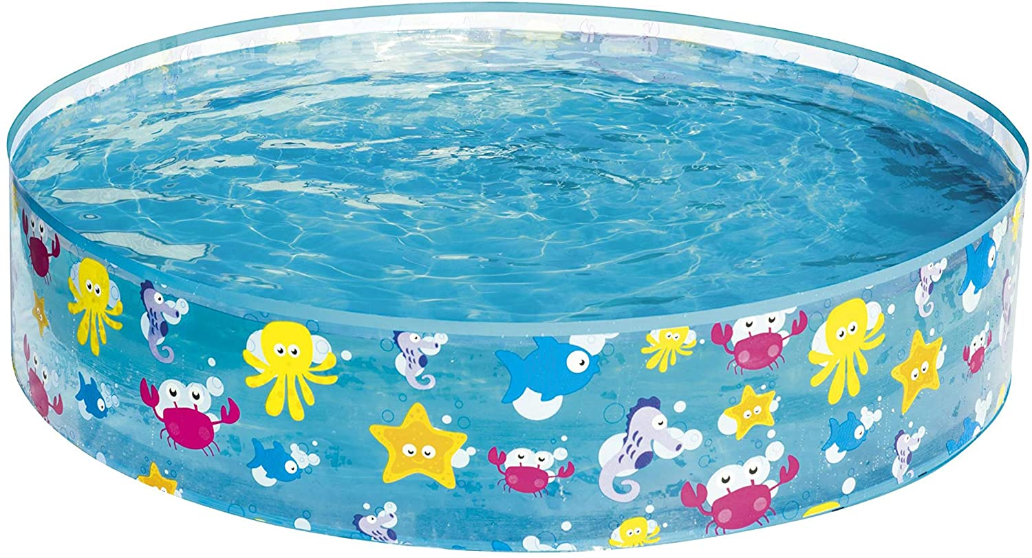Bestway 55028 - Piscina Infantil Fill N Fun Sparkling Sea 122x25 cm: Amazon.es: Jardín