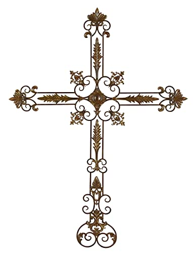 Deco 79 80296 Metal Wall Cross, 64 by 47