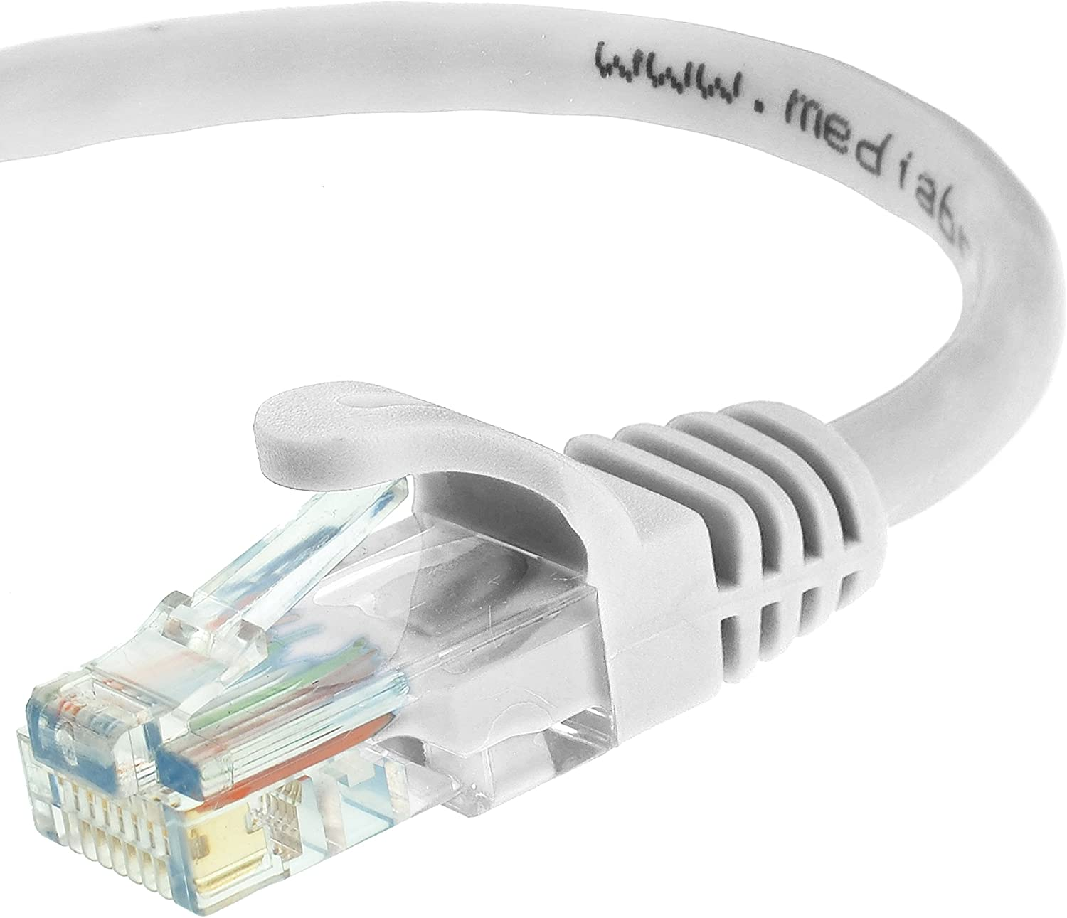 Mediabridge Ethernet Cable (100 Feet) - Supports Cat6 / Cat5e / Cat5 Standards, 550MHz, 10Gbps - RJ45 Computer Networking Cord (Part# 31-299-100B): Computers & Accessories
