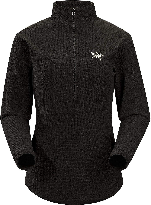 Arcteryx F18 Delta LT Zip Womens Black