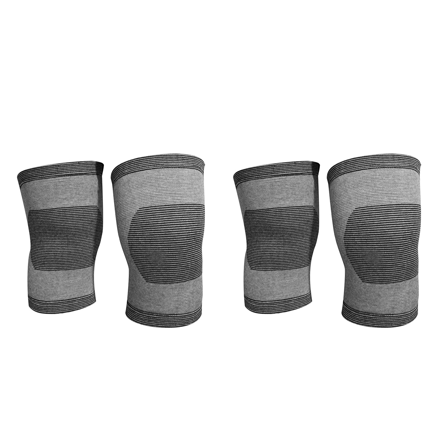 74049486bba8 Plus Z (Pack of 4) Compression Kneepads/kneelet Sleeve for Basketball,  Football, Dancing, Cheerleading, Fitness, Gym. Arthritis, Meniscus Tear,  Joint Pain ...