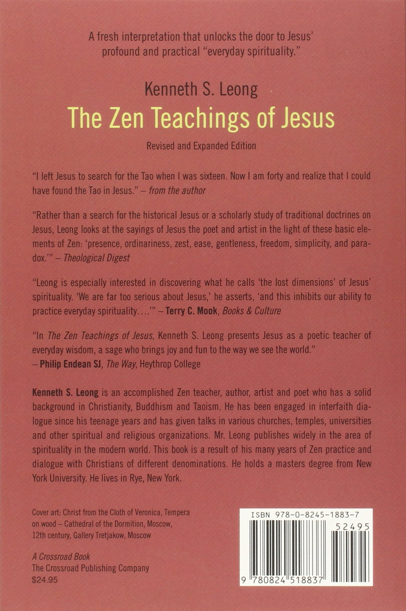 Amazon.com: The Zen Teachings of Jesus (9780824518837): Kenneth S. Leong:  Books