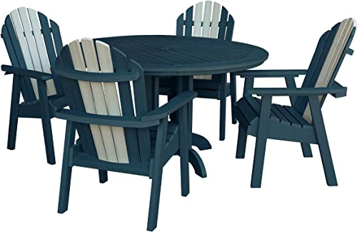 Highwood AD-DNA48-ODY Hamilton 5 Piece Dining Set