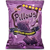 Oishi Pillows Ube Filled Crackers,1.34 Ounce Pack of 5