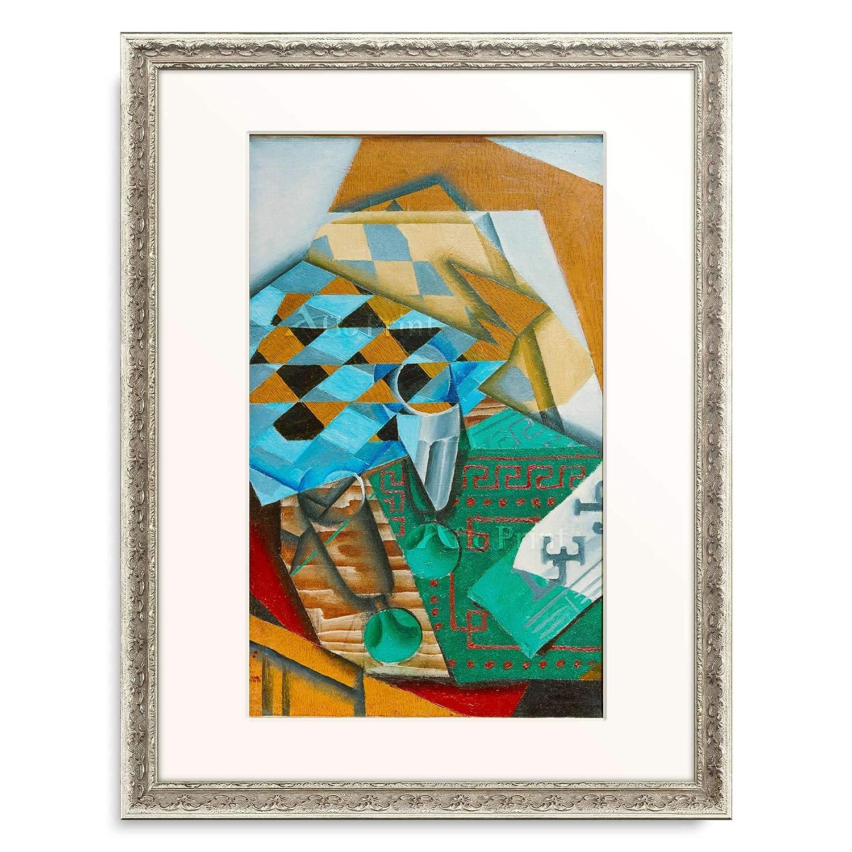 【返品送料無料】 フアングリス Juan Gris 「The Juan Chess Board」 08.装飾額 額装アート作品 19mm(シルバー) B07P84PQDK L(額内寸 509mm×394mm)|08.装飾額 19mm(シルバー) 08.装飾額 19mm(シルバー) L(額内寸 509mm×394mm), 【在庫一掃】:eaa229ad --- arianechie.dominiotemporario.com